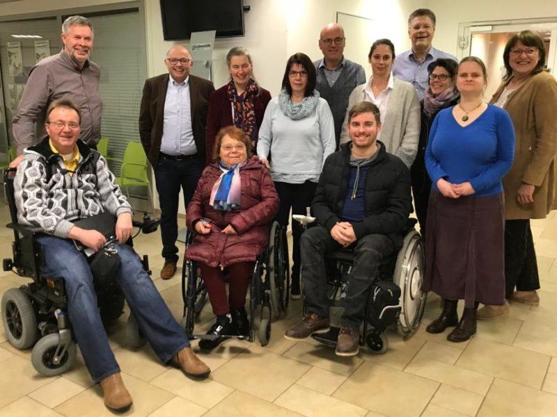 Neuer Vorstand des Behindertenbeirates